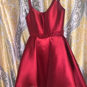 a homecoming dress